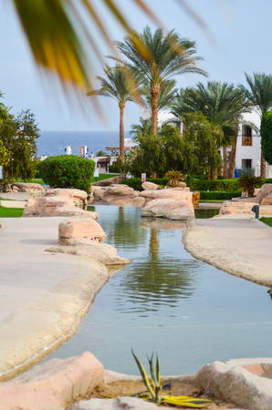 EGYPT, SHARM EL SHEIKH - NOVEMBER 302013. Visit the hotels auditor and evaluating the level of decoration area.