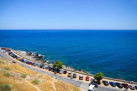 Azur blue sea
