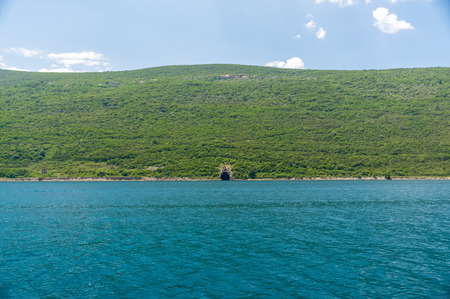 In the Boka-Kotorsky Bay opposite the town of Herceg Novi is a secret military base.