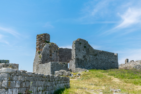 Ancient fortress defended the town of Shkoder in the past.