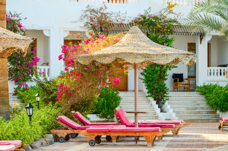 EGYPT, SHARM EL SHEIKH - 05 JUNE2015: Visit the hotels auditor and evaluating the level of decoration area.