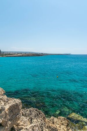 One of the most poplar beaches on the island of Cyprus is Nissi Beach.