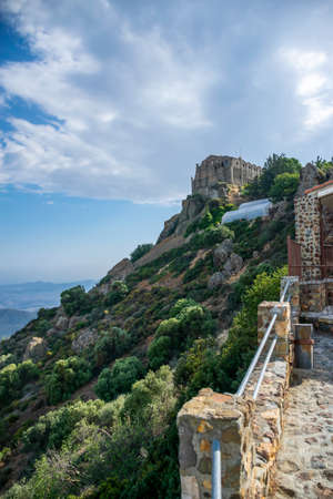 One of the most famous monasteries in Cyprus is Stavrovouni. Archivio Fotografico