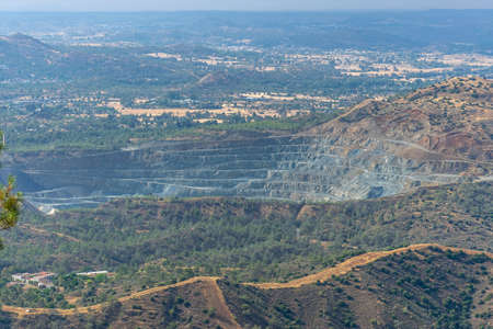 Not far from the city of Limassol, in the quarry, there will be work on the extraction of minerals.