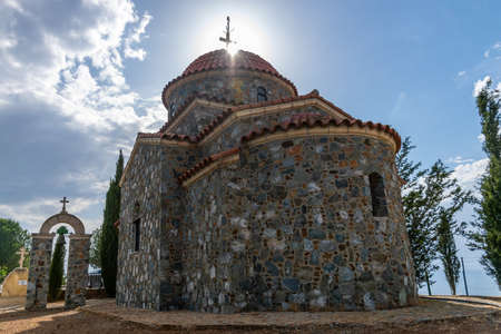 The old chapel is located near the Stavrovouni temple on the top of the mountain.