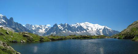 Lake of Cheresys, Chamonix, France