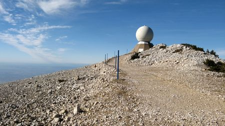 vaucluse: Observatory of Mount Ventoux, Vaucluse, France Stock Photo