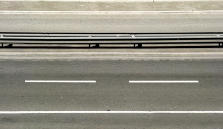 horizontal lines: Horizontal road Stock Photo