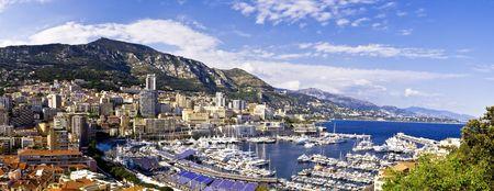 La Condamine Harbor, Monaco Reklamní fotografie