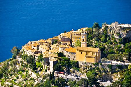maritimes: Eze village in french riviera