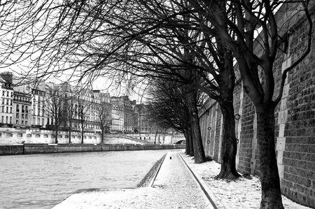 Seine embankment in Paris Reklamní fotografie