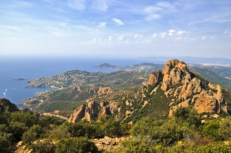 Esterel near Agay Stock Photo - 13578013