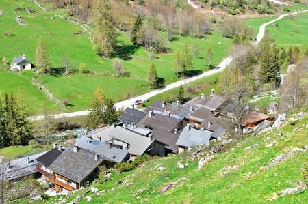 Champagny en Vanoise Reklamní fotografie