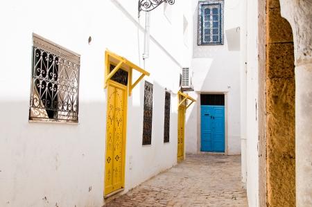 impasse: Alley in Tunis medina
