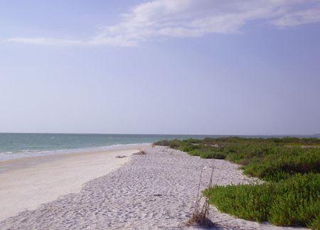 Imagen de una playa en Naples, Florida, USA Stock Photo - 3019297