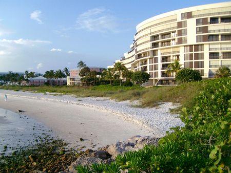 Vista de una playa en la Florida, USA Stock Photo - 3286644