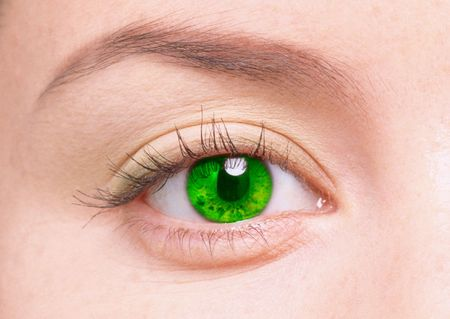 young female eye Stock Photo - 4520444