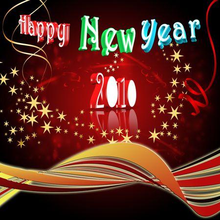 Happy New Year - 2010 Stock Photo - 5336605