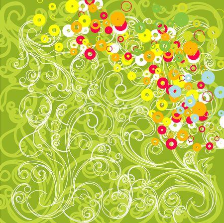 Colorful grunge background photo
