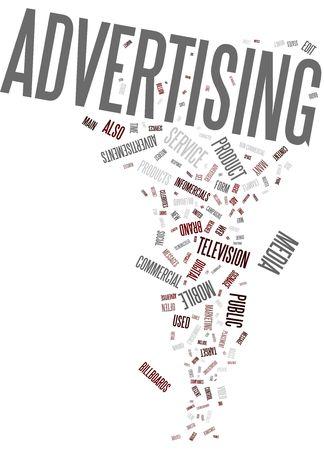 Advertising cloud words