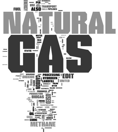 Natural Gas tag cloud