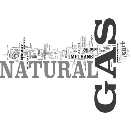 Natural Gas tag cloud Stock Photo - 5519216