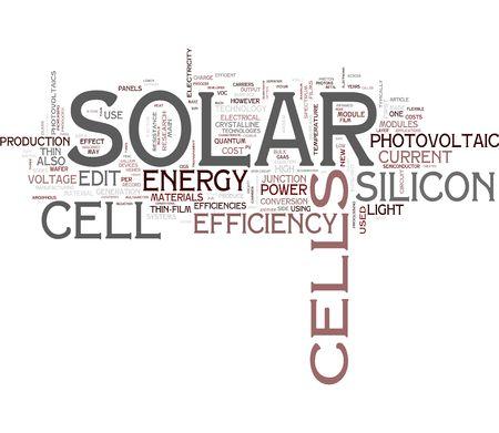 sonnenenergie: Solar Energy Wort cloud