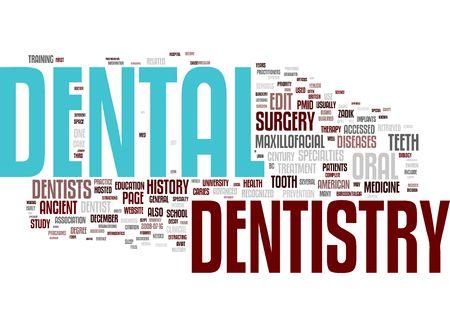 orthodontic word cloud Stock Photo - 6312042