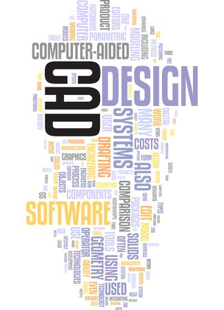 Computer aided design  Stock Photo