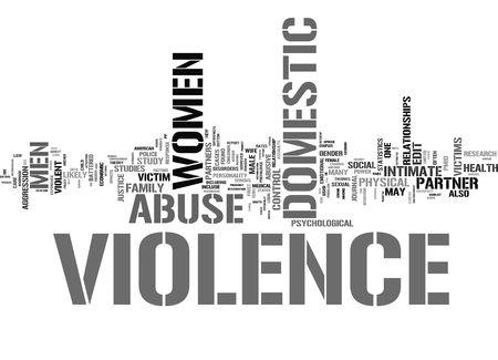 domestic abuse: violence