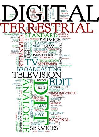 Digital Terrestrial Stock Photo - 5772014