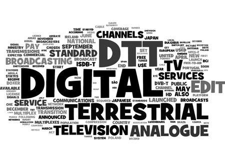 terrestrial: Digital Terrestrial Stock Photo