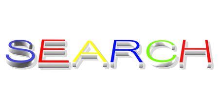 worldwideweb: Search on Internet Stock Photo