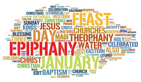 epiphany word collage