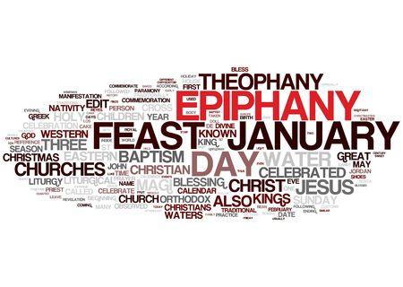 epiphany: epiphany word collage