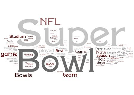 nfl: Super Bowl illustration