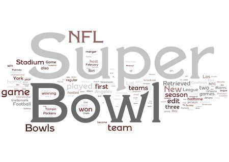 football tackle: Super Bowl illustration