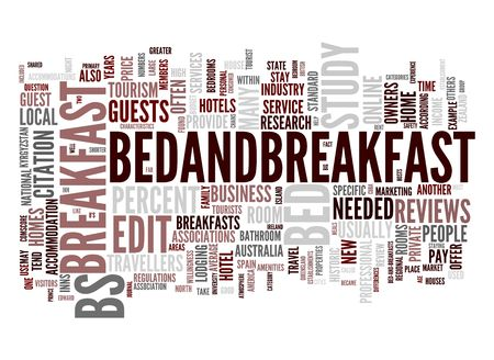 guesthouse: Bed and Breakfast Stock Photo