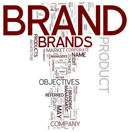 different strategy: Brand management