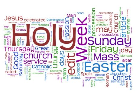 holy week: Easter - holy week