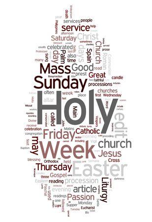 catholic wedding: Easter - holy week