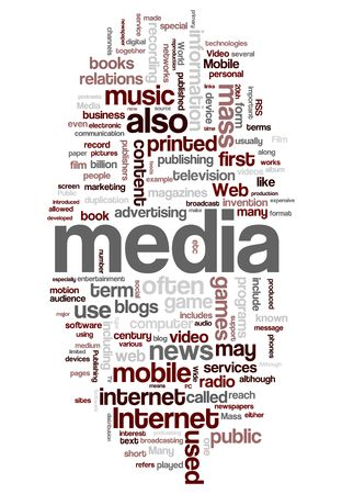 article writing: Mass media and Internet