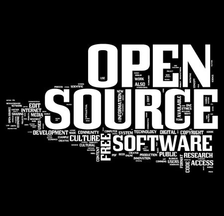 Free Open Source Development concepts photo
