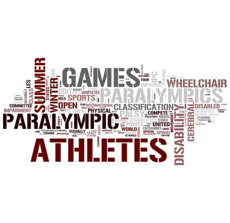 Paralympic Games for disabled persons  photo