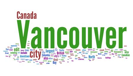 Vancouver tags photo