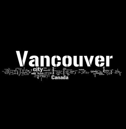 winnipeg: Vancouver tags Stock Photo