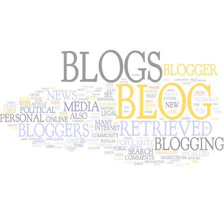 photoblog: Blog wordcloud