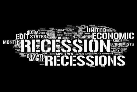 crisis economica: Recesión