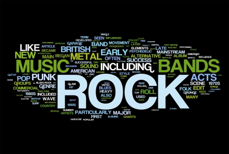 rock guitarist: Rock and roll - Music