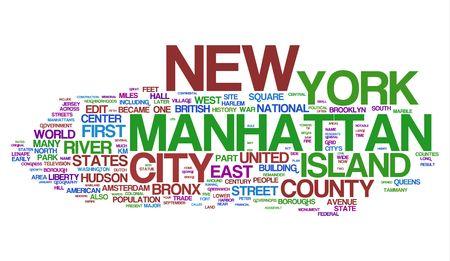 street name sign: Manhattan - New York